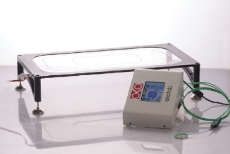 heated glass table